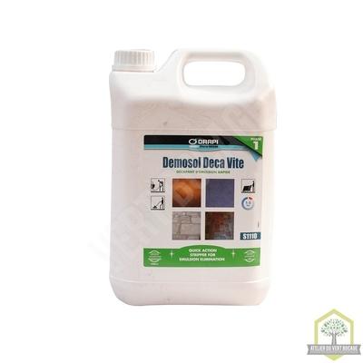 Décapant  sol polyvalent pour sols encrassés - Tous types de sols - Bidon de 5 L