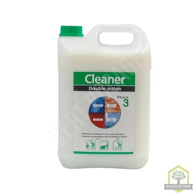 Nettoyant cirant :  nettoie, protège et redonne de la brillance aux sols- Bidon de 5 L