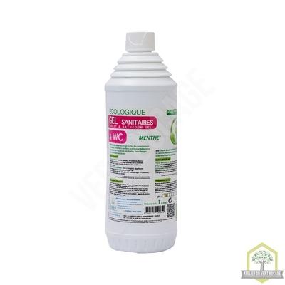 Gel sanitaires & WC Menthe - Flacon 1 L