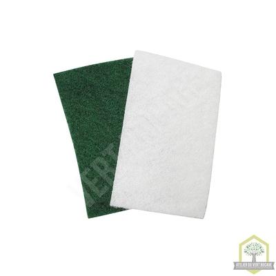 Tampon à récurer vert grand modèle - usage courant