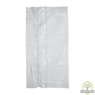 Sac poubelle plastique 20 L 25 microns blanc