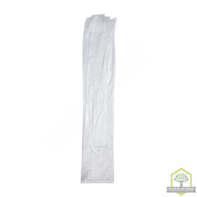 Sac poubelle plastique 30 L 30 microns Transparent