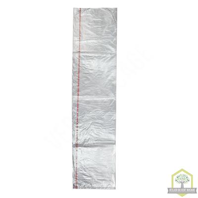 Sac poubelle plastique 50 L 30 microns Transparent