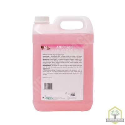 Solution lavante bactéricide à la glycérine Haute fréquence  - Bidon 5 L