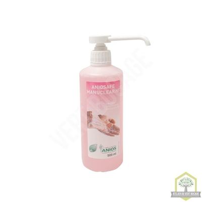 Solution lavante bactéricide à la glycérine Haute fréquence - Doseur 500 ml