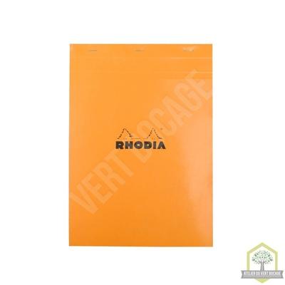 Bloc bureau Standard Format A4 Réglure 5 x 5 - 80 pages, feuilles détachables