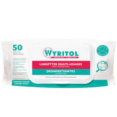 lingettes Désinfectante Wyritol