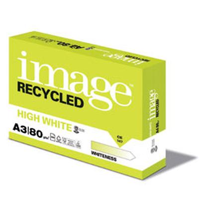 Papier Extra Blanc Premium A3 RECYCLE 80 g/m² Copy / Laser / Inkjet - Ramette de 500 feuilles