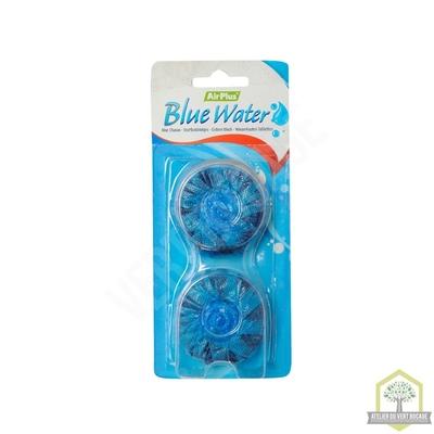 Bloc chasse d'eau bleu - Lot de 2 Cubes